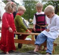 Barn som leker tillsammans