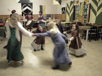 Dansande barn
